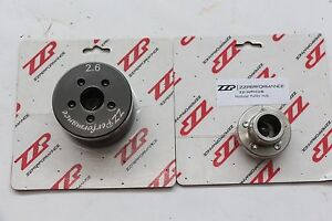 Zzperformance M90 3 8l 3800 Modular 2 6 Supercharger Pulley System W Hub
