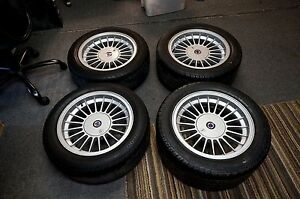 Authentic Bmw Alpina 16 Rims Staggered With Tires Great Condition Authentic
