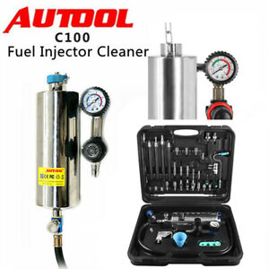 Autool C100 Automotive Non Dismantle Fuel Injector Cleaner For Petrol Vehicle