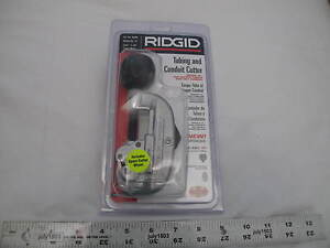 1 New Ridgid 32920 Tubing Conduit Cutter Copper Aluminum Emt