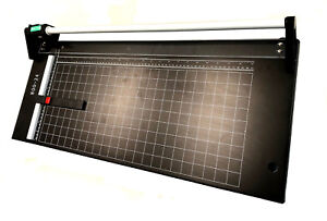 New 24 Hard Steel Manual Rotary Paper Cutter Trimmer photo poster banner copper