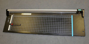 New 36 Hard Steel Manual Rotary Paper Cutter Trimmer photo poster banner copper