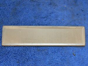 1963 66 Plymouth Valiant Barracuda Dart Brown Radio Delete Plate 816
