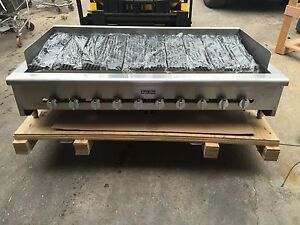 New Radiant Char Broiler Gas Grill 60