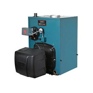 Burnham Pv8h3wc tbwn Water steam Oil Fired Boiler Less Tankless Coil