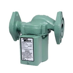 Taco 0010 f3 1 Ifc 115 Volt Iron Cartridge Circulator With Integral Flow Check