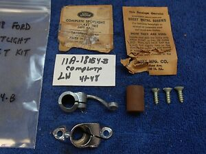 1941 48 Ford Lh Spotlight Bracket Kit Nos Ford 816