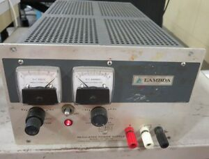Lambda Lh 122 Fm Dc Power Supply Output 0 20 Vdc 0 5 7 Amps Bench Checked
