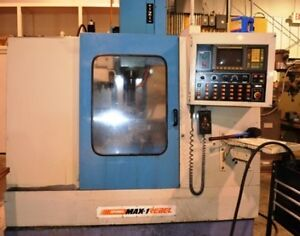 Supermax Max 1 Rebel Cnc Vertical Machining Center New 1994