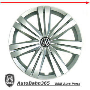 New Genuine Oem Vw Hub Cap Jetta 2015 2017 14 spoke Wheel Cover Fits 16 Wheel