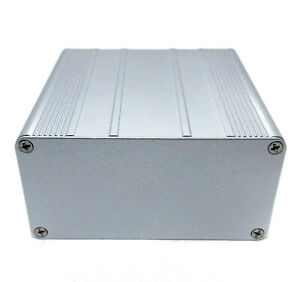 Silver Aluminum Pcb Instrument Box Enclosure Diy Project 100 100 50mm Us Stock