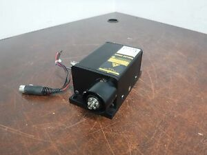 Melles Griot 58 gcb 020 031 Laser 200mw 532nm Class Iiib 3b On Mount Plate