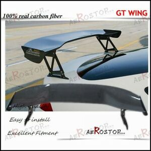 Carbon Fiber Js Racing Type 1 Style Gt Wing Spoiler 1600mm For Integra Rsx Dc5