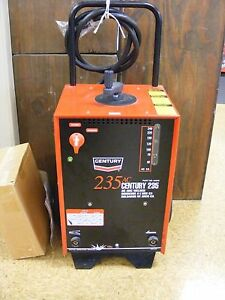 84240 Century 235a Ac Arc Welder New