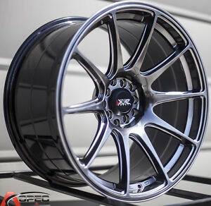Xxr 527 20x8 5 5x114 3 40 Chromium Black Wheels Fits Honda Accord 2008 2012