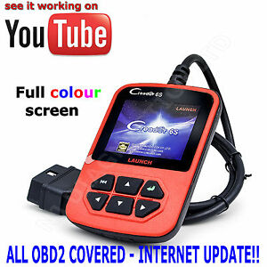 Creader 6 Vi Car Engine Fault Diagnostic Scanner Code Reader Obd2 Obd Scan Tool