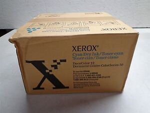 Genuine Xerox Dry Ink Cyan Toner For Docucolor 12 6r946