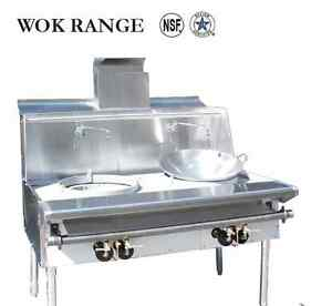 Resataruant Chinese Range Single Wok