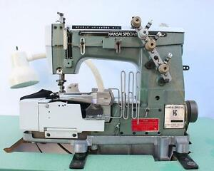 Kansai W8102 2 needle 3 thread 3 16 Coverstitch Binder Industrial Sewing Machine