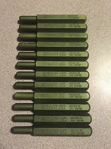 12x Daniels Dmc Ms3323 22 Dak 126 22 Insertion Tools No Tips