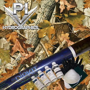 Hydrographic Kit Hydro Dipping Water Transfer Hydro Dip New Fall Leaves Hc243
