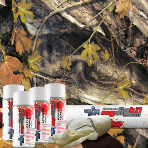 Hydrographic Kit Hydro Dipping Water Transfer Hydro Dip Fall Oak Camo Tree Hc452