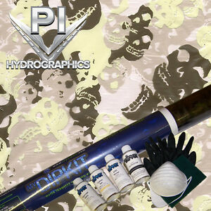 Hydrographic Kit Hydro Dipping Water Transfer Hydro Dip Mist Of Skulls Ll 908