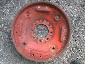 1956 Case 300 Gas Tractor 28 Rim Wheel Center 8 Lug Free Shipping