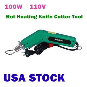 Us Stock 100w Durable And Practical Handheld Hot Heating Knife Cutter Tool 110v