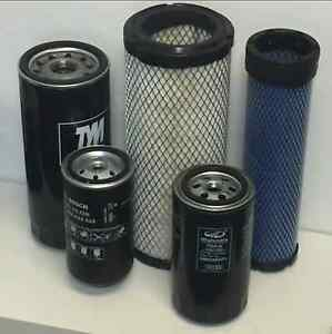 Mahindra Tractor Economy Pack Of 5 Filters 0455 0456 8803 8618 17975152101