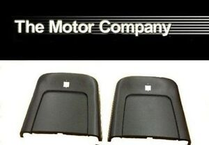 1969 1970 1971 1972 Pontiac Gto Lemans Tempest Seat Backs Only Black In Stock