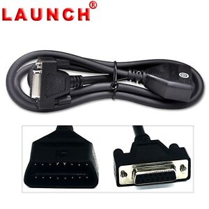 New 100 Genuine Launch Obd2 Eobd 16 Pin Main Test Cable For Creader Vii Viii