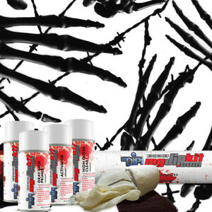 Hydrographic Film Kit Hydro Dipping Water Transfer Printing Grim Reaper Dd 213