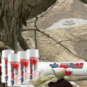 Hydrographic Film Kit Hydro Dipping Water Transfer Printing Hickory C