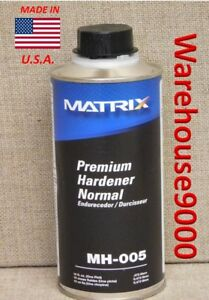 Matrix Premium Hardener Normal Mh 005 One Pint For Use With Matrix Clear Coat