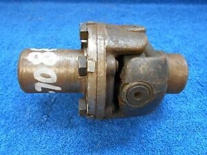 1938 39 Ford 1 Ton Truck 3 Speed Drive Shaft Front U Joint New 916