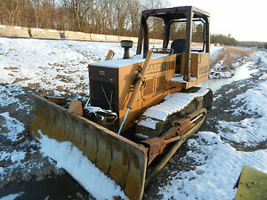 1984 Case 1150d Dozer 3900 Original Hours 8 Way Blade Plus Parts Bulldozer Track