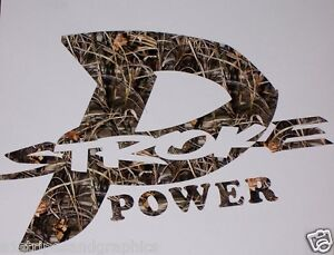 P Stroke Power Real Tree M4 Camo Decal Decals Sticker Stickers F250 F350 F450