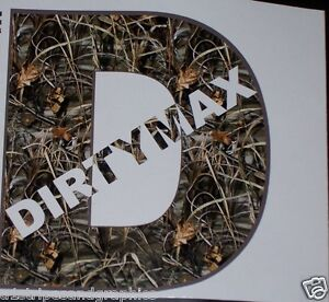 Real Tree M4 Camo Dirtymax Decal Sticker Turbo Diesel Truck Duramax 2500 3500