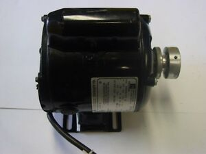 Hd 120 Vac Electric Motor 1 4 Hp 1725 Rpm Reversible tested In Good Condition