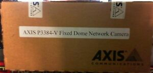 Axis Communication Inc 0511 001 P3384 v 9mm Indoor Dome New