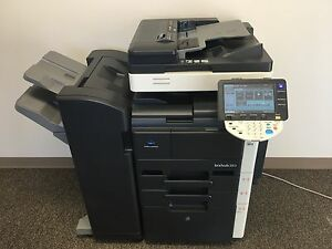 Konica Minolta Bizhub 283 Copier Printer Scanner Network Low 190k Total Pages
