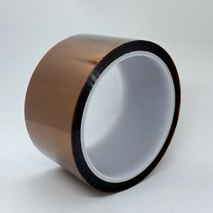 50mm X 100ft Gold High Temperature Heat Resistant Kapton Tape Polyimide Bga
