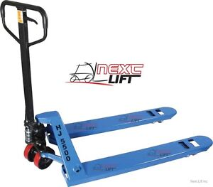 Pallet Jack Hand Truck 27 X 48 5500 Lb Cap New 1 year Cheap Freight Shipping