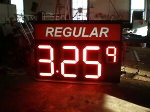 Combo 24 32 Led Gas Price Signs