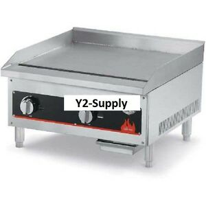 New Vollrath Cayenne 36 Manually Controlled Gas Griddle 36 X 27 X 16