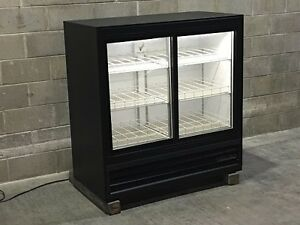Used Beverage Air Two Glass Door Drink Cooler Merchandiser