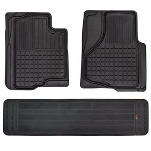 Hd 3d Rubber Custom Fit Floor Mats For Ford F 150 2009 2014 F150 3pc W Liner