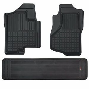 Custom Liners 3d Heavy Duty Rubber Floor Mats For Chevy Silverado 2007 2014 3pc