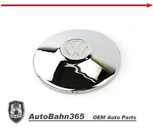 New Vw Logo Chrome Hub Cap Late Beetle Bug Bus Ghia Type 3 Vanagon 251601151a